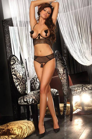 Valencia Sexy Open Bra Top and Briefs