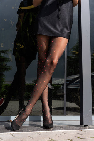 Image of Nashmiri Black Tights