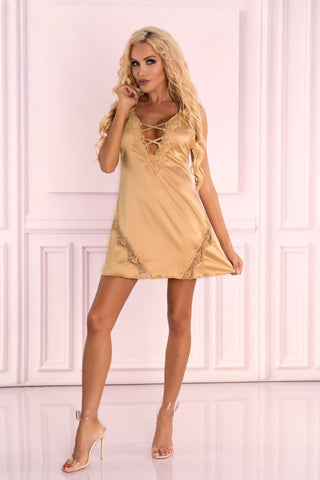 Landim Gold Nightdress