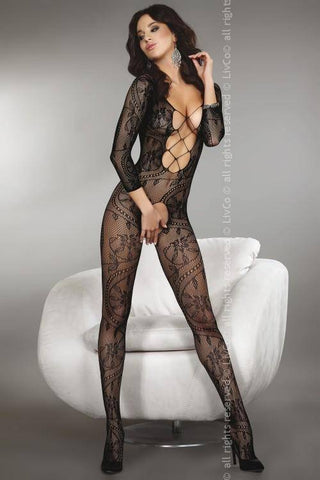 Image of Zita Black Sexy Black Bodystocking