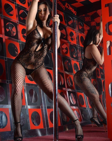 Image of Fishnet Bodystocking