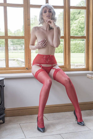 Suspender Belt AND Stockings