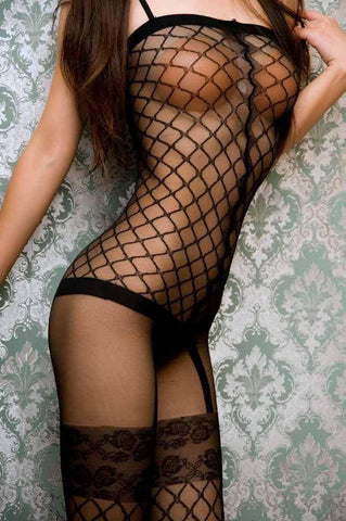 Whale Fishnet Bodystocking
