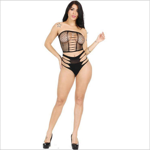 The 'Show me' Fishnet Bodystocking (Size UK M 8 - 10)