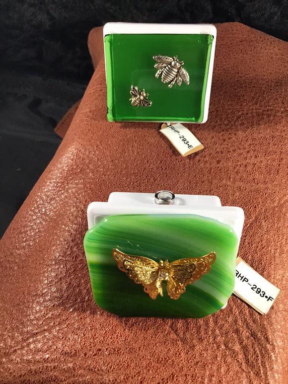 Green Nightlight (Bees) (Perfect for that Small Gift)