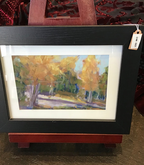 Original Fall Pastel Scene - Chalk