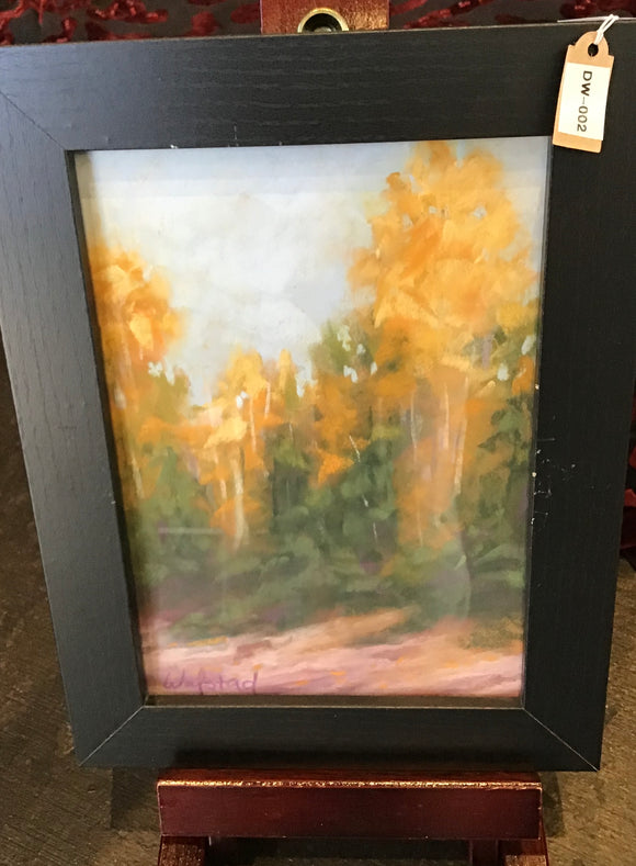 Gorgeous Fall Pastel Painting