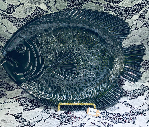 Small Black Fish Platter