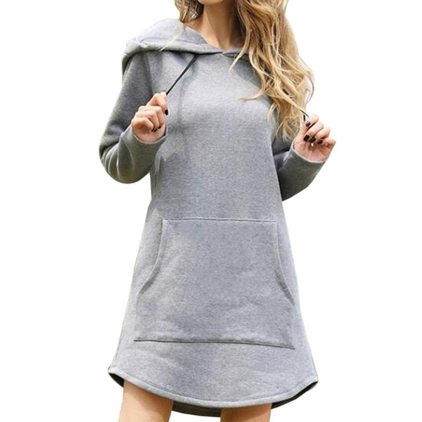 Casual Hooded Sweatshirt