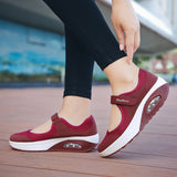 Open Top Strap Sneakers