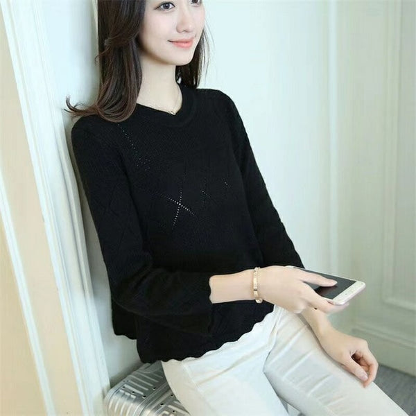 Knitted Jumper Sweatshirt