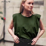 Mnealways18 Casual Loose Tank Tops