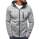 Jacquard Fleece Cardigan Hoodies