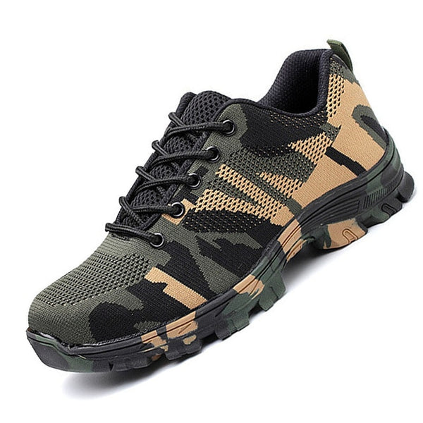 Camouflage Military Boots Work Shoes