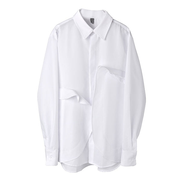 [EAM] Long Sleeve Shirt