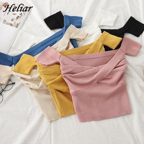 Heliar Off shoulder Sweater