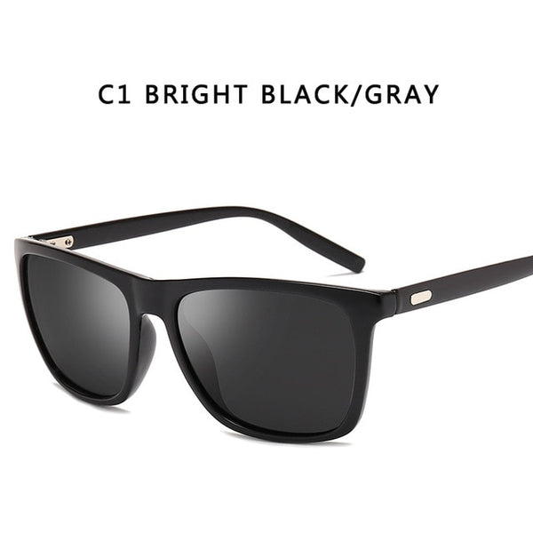 Polarized Thick Frame Sunglasses