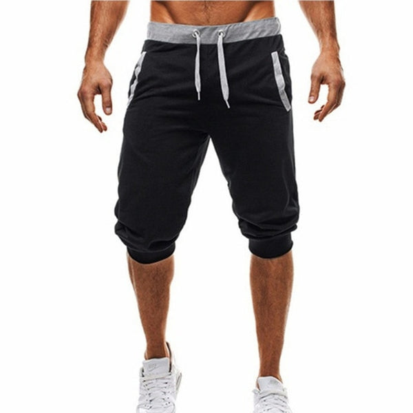 Knee Length Leisure Cotton Shorts