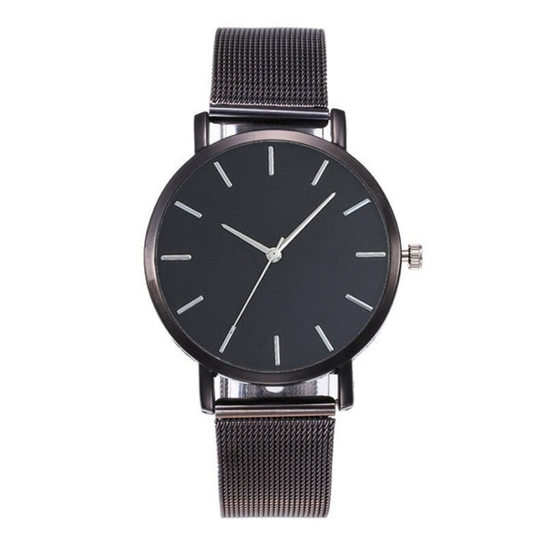 GOGOEY Metal Strap Watch