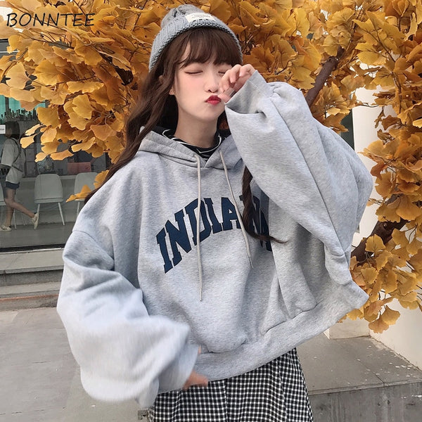 Two-piece Letter Print Hoodie