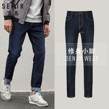 SEMIR jeans for men slim fit pants classic 2020 jeans male denim jeans men Designer Trousers Casual Straight Elasticity pants