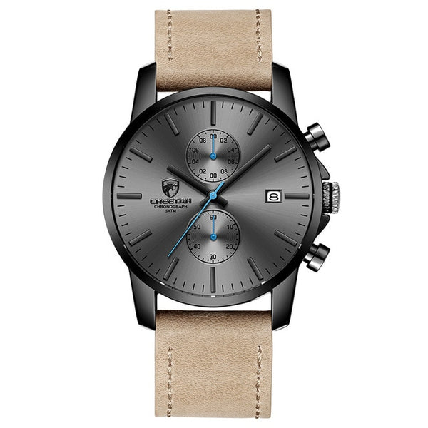 CHEETAH Simple Leather Watch