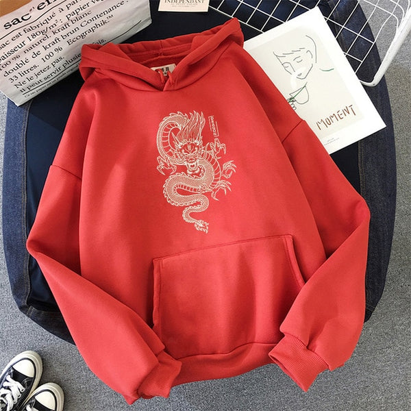 Dragon Print Sweatshirts