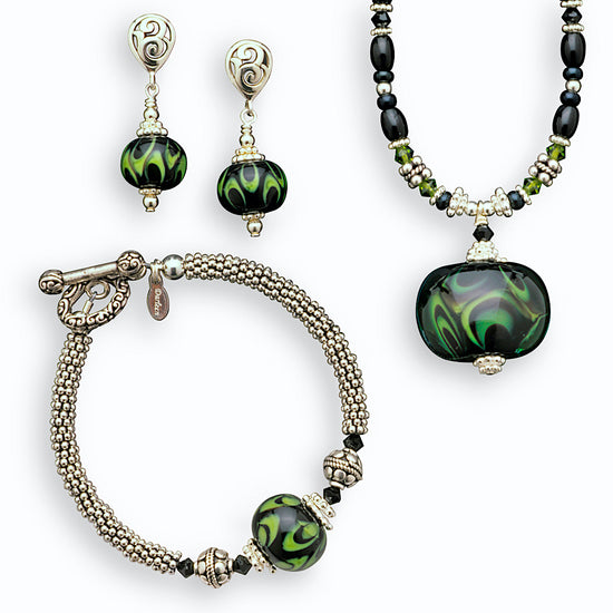 Winter Moss Jewelry Collection