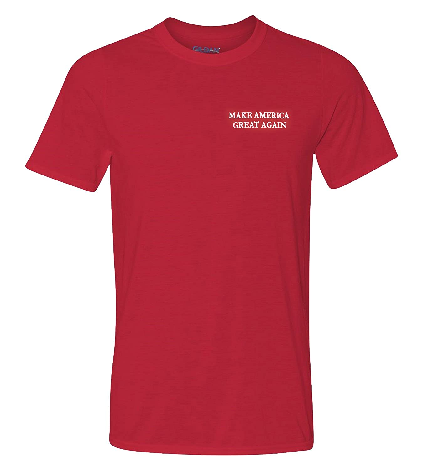 752325c25 Men's Donald Trump Make America Great Again Embroidered Poly Jersey T- -  Armycrew.com