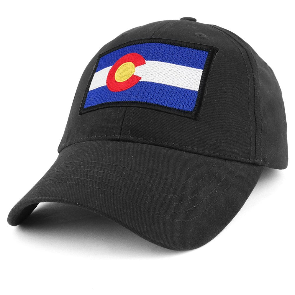 b6b46bc7e4f COLORADO State Flag Embroidered Tactical Patch with Adjustable Operator Cap