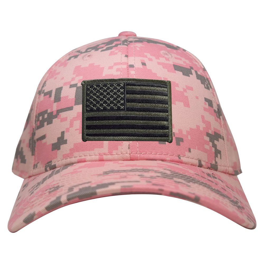 Low Profile US American Flag Patch Camo Cap - PKD - Black Olive -  Armycrew.com 504d003a82b