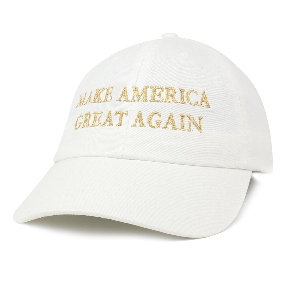 5b689697a Made in USA Donald Trump Soft Cotton Cap - Make America Great Again  Embroidered