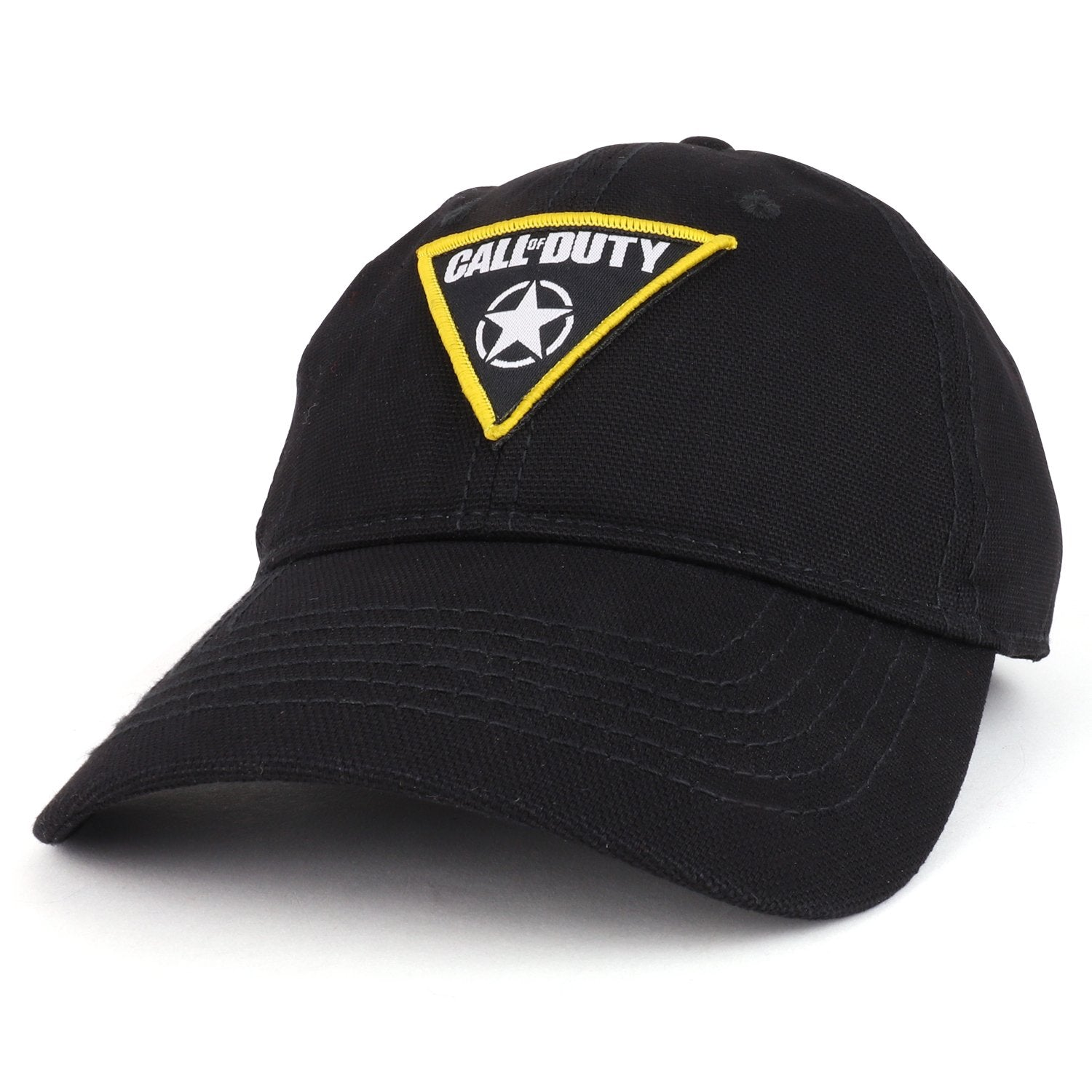 Armycrew Call Of Duty Patch Logo Unstructured Cotton Canvas Baseball C -  Armycrew.com 49cf27ebb07f