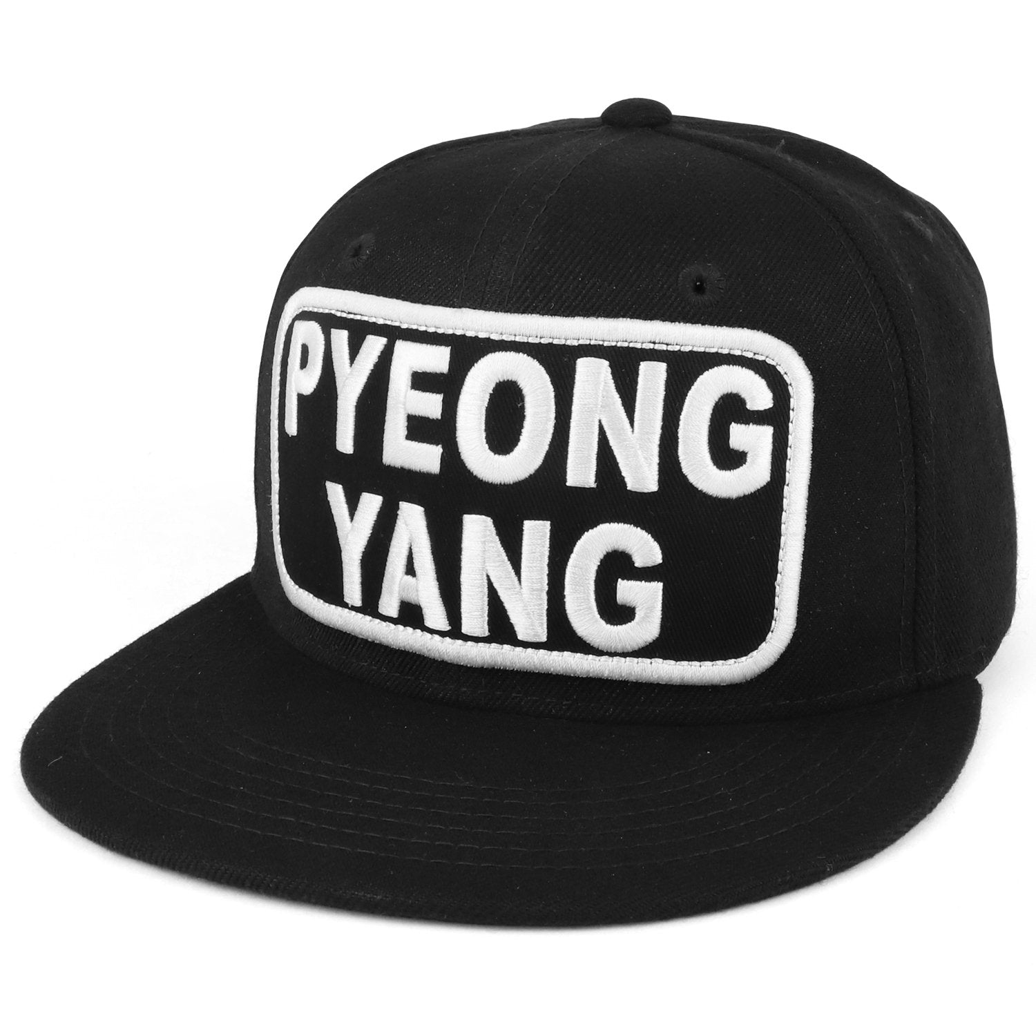 397484ec77a47 Armycrew City Name Embroidered Patch High Profile Flatbill Snapback ...