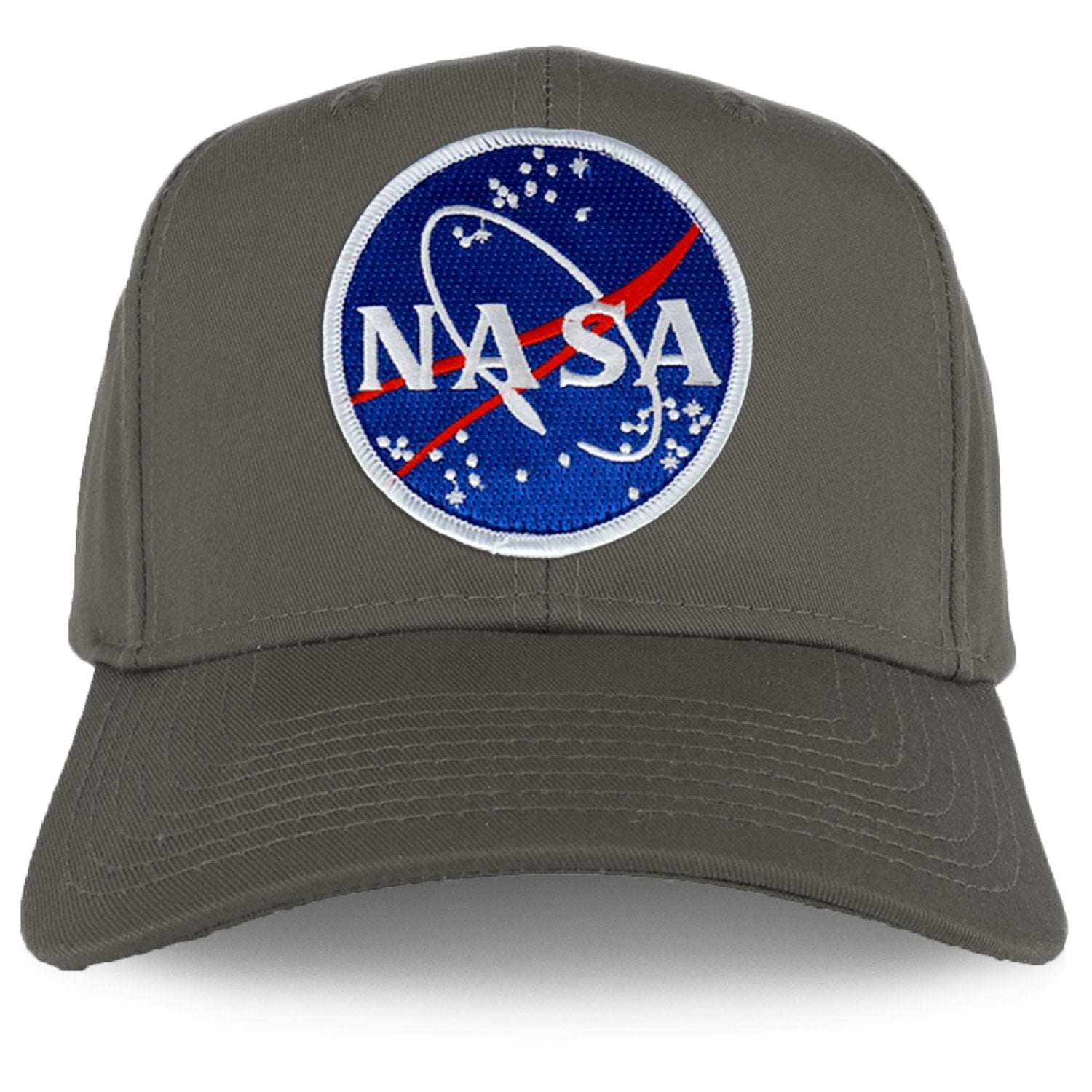 f1e538248582f Armycrew XXL Oversize NASA Meatball Logo Iron On Patch Solid Baseball Cap