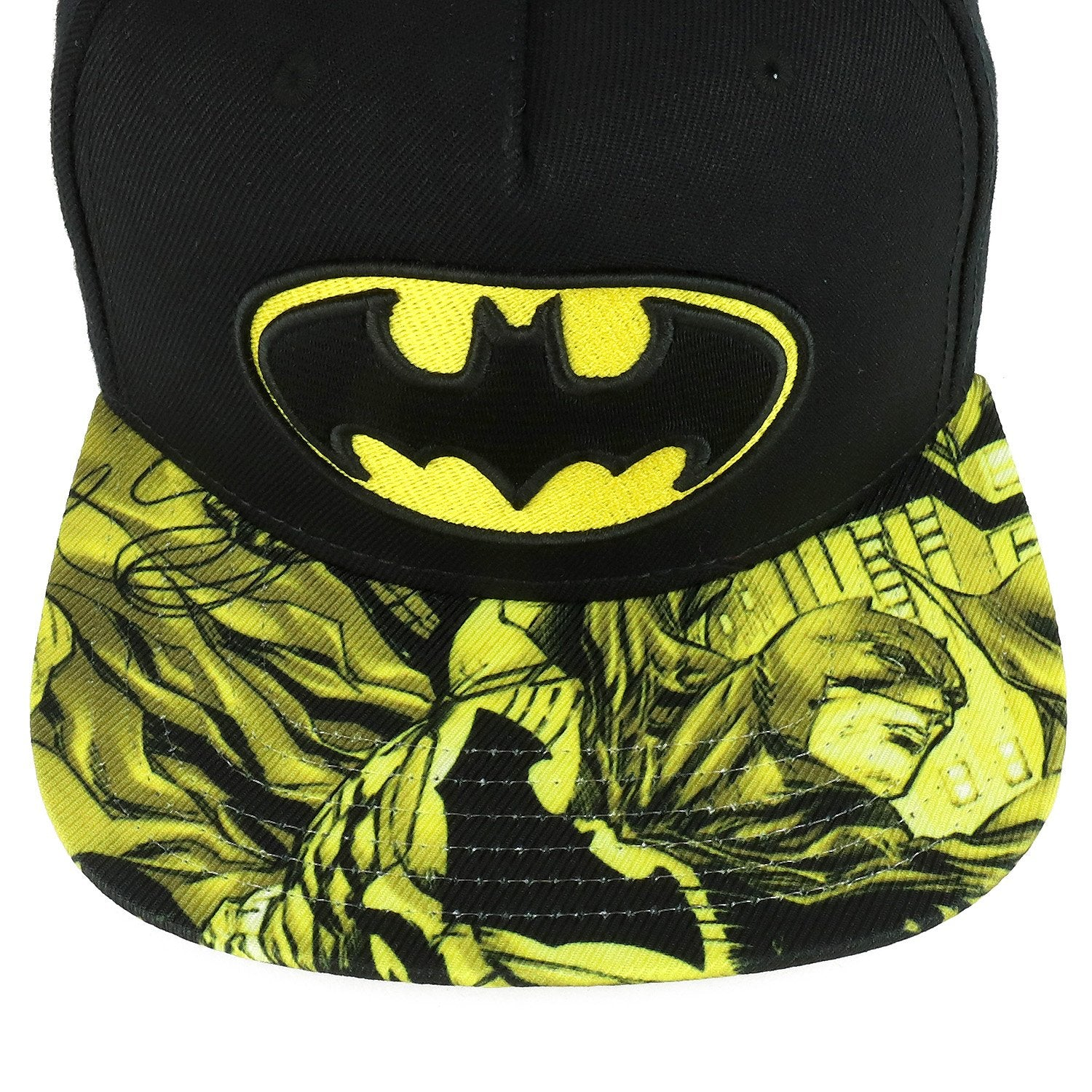 26203f5e7 Armycrew Youth Size Kid's Batman Logo Design Embroidered Flatbill Snapback  Cap