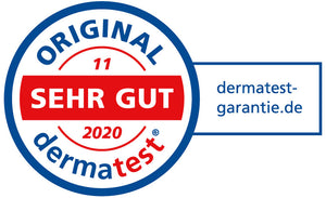 dermatest November 2020 Testurteil SEHR GUT