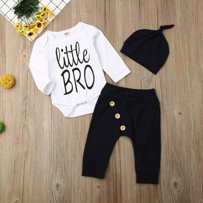 """Little Bro"" Long Sleeve Bodysuit"