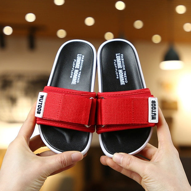 Baby Boy Outdoor Slippers