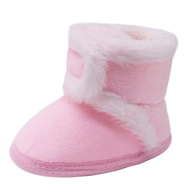Fur Soft Sole Non-slip Boots