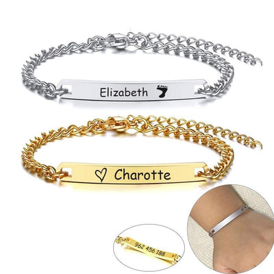 Adjustable Kids ID Bracelets