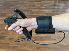 Load image into Gallery viewer, Prototype Wrist Charger + Strap (Black, NO CABLES)