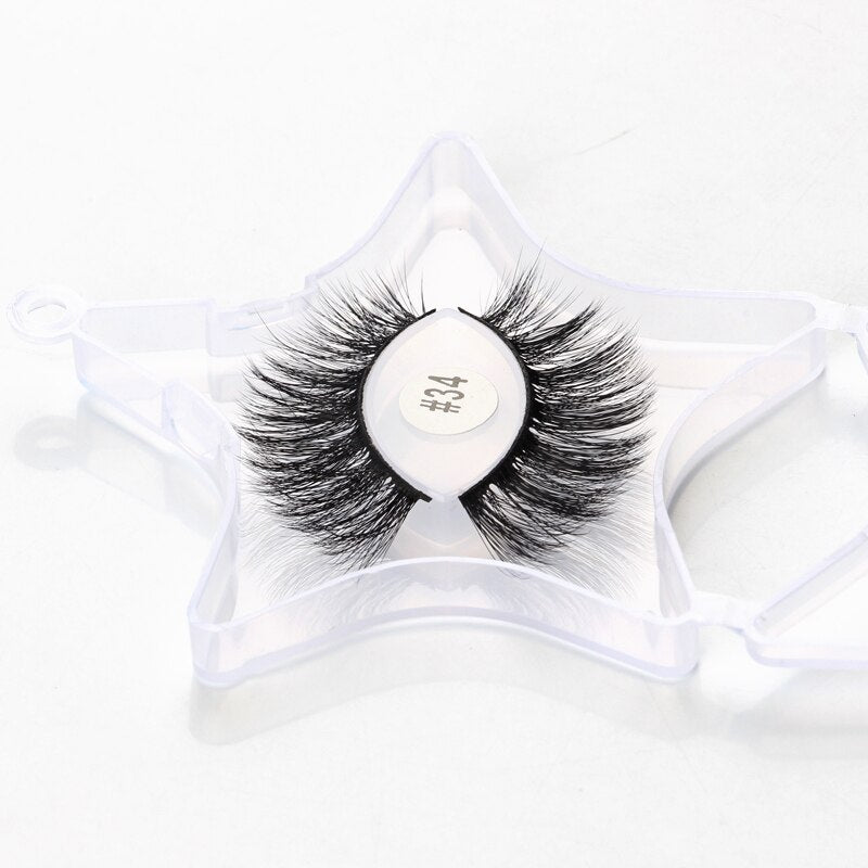 Wholesale Lashes Mink Eyelashes  Fluffy Mink Lashes Natural False Eyelashes Bulk Lash Eyelash Fake Lashes in Bulk