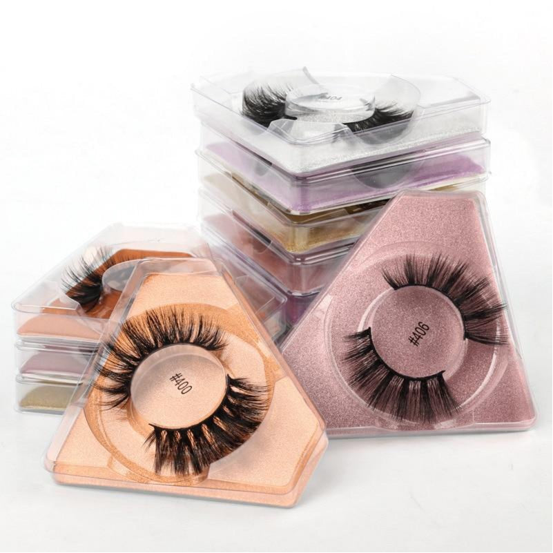 Wholesale Eyelashes 3d Mink Lashes Natural Beauty Eyelashes Pack False Eyelashes Makeup False Lashes In Bulk