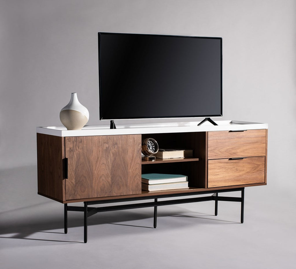 Buy Pedro Stone Gloss Tv Stand Online at American Home Furniture