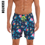 Swim Trunks Quick Dry Beach Shorts with Pockets