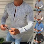 Long Sleeve Casual Slim Shirt For Men