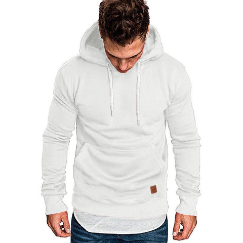 Men's Casual Pocket Hoodie Sweatshirts