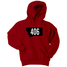 Load image into Gallery viewer, Youth Montana Rebels 406 Hoodie
