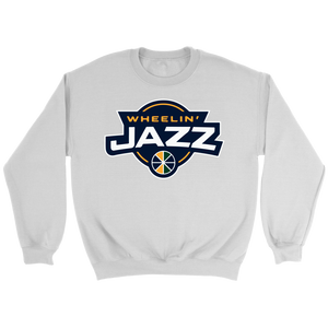 Adult Wheelin' Jazz Personalized Sweatshsirt